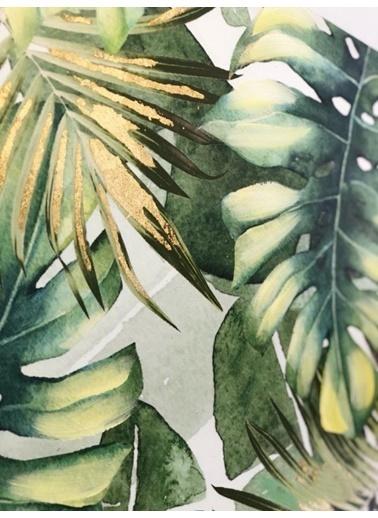 Mikasa Moor Yaprak Yağlı Boya Tablo Renkli